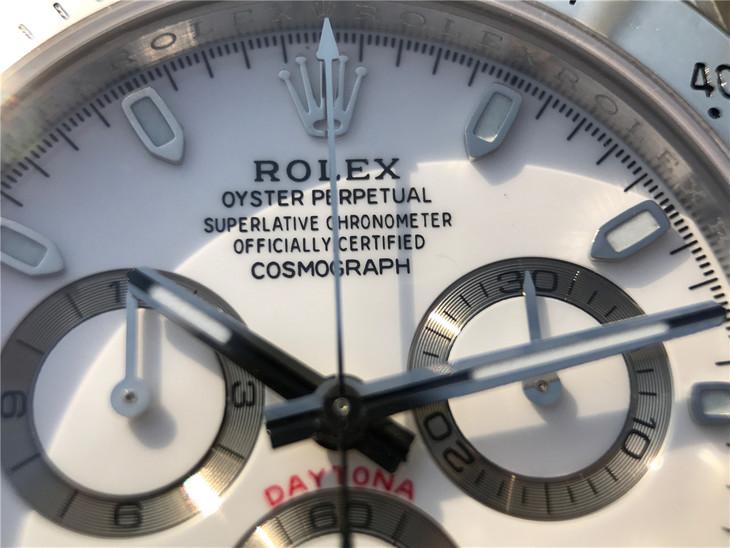 Daytona White Dial