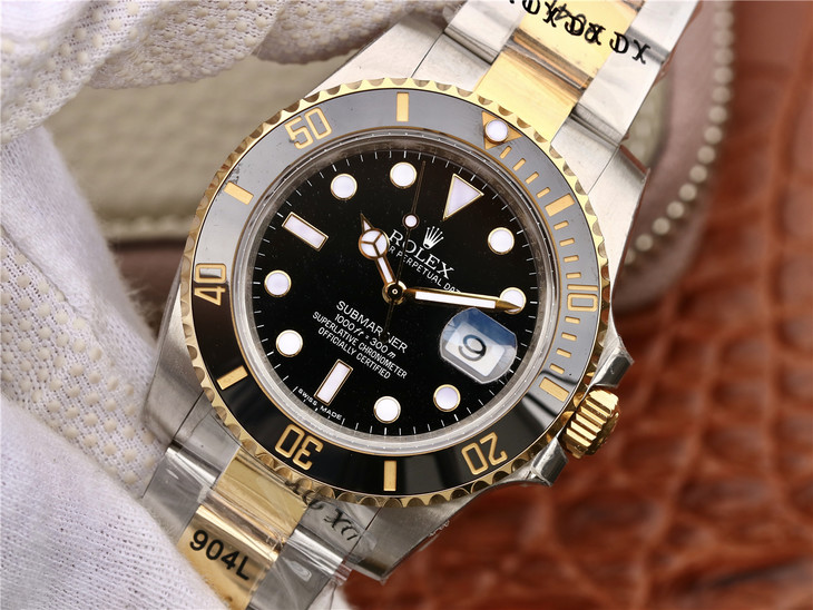 GM Replica Rolex Submariner Two Tone