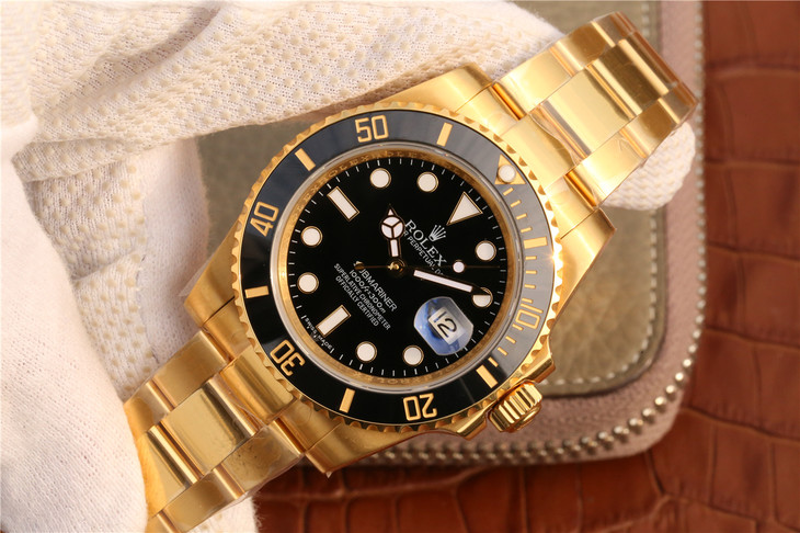 Noob Wrapped Yellow Gold Submariner 116618