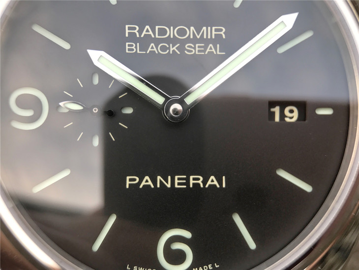PAM 388 Black Dial
