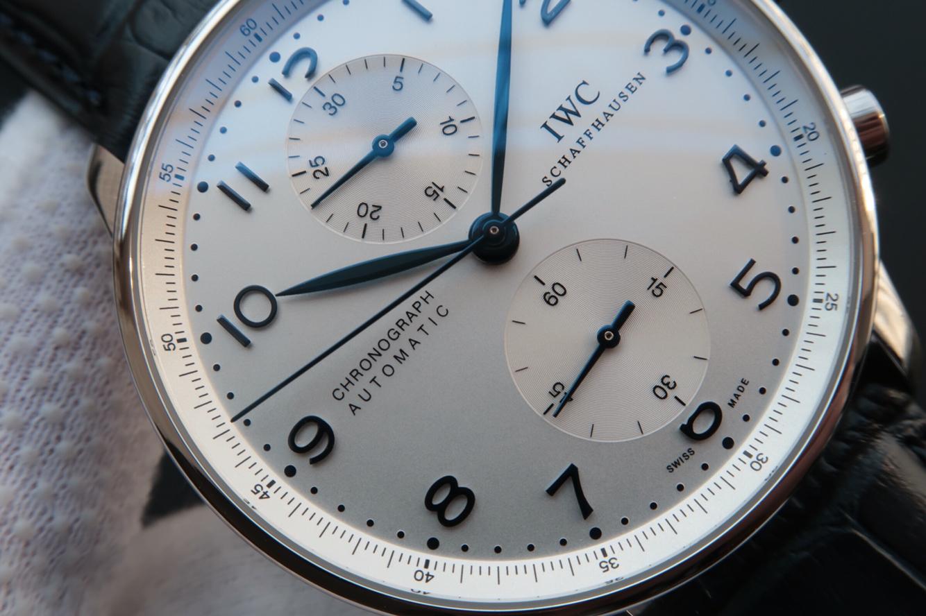 Replica IWC Portuguese IW371446 White Dial