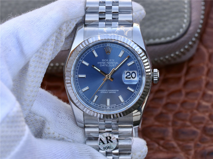 Replica Rolex Datejust 36mm Blue