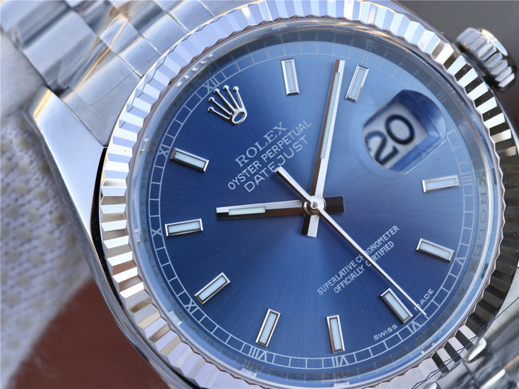 Replica Rolex Datejust Blue Dial