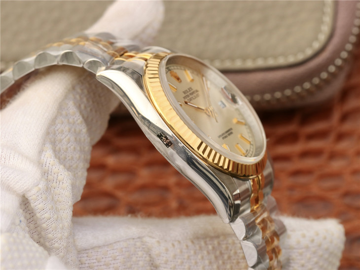 Replica Rolex Datejust Fluted Bezel