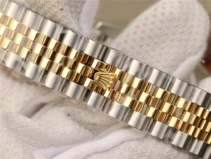 Replica Rolex Datejust Two Tone Jubilee Bracelet