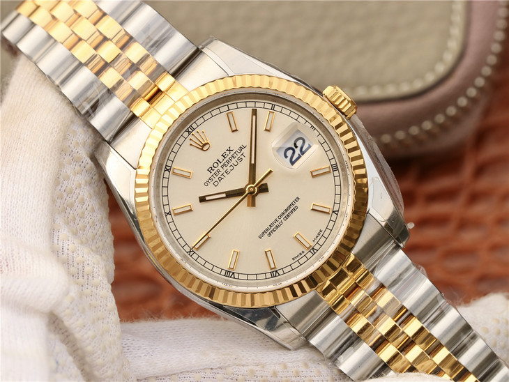 Replica Rolex Datejust Two Tone
