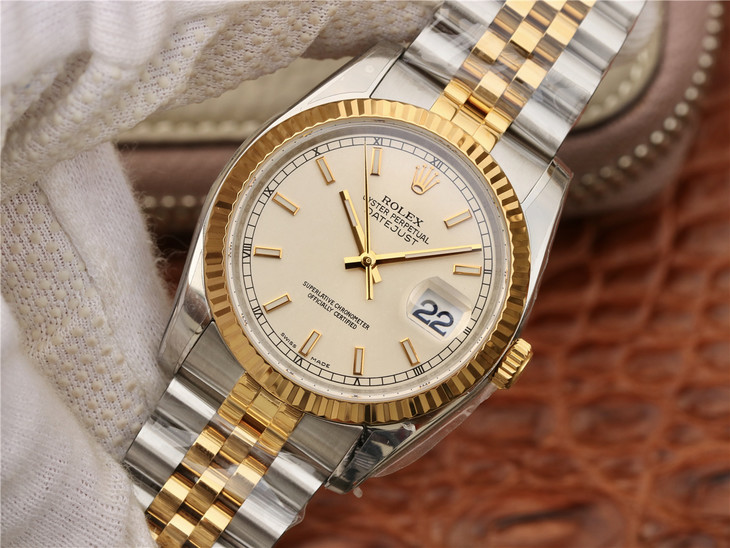 Replica Rolex Datejust Yellow Gold