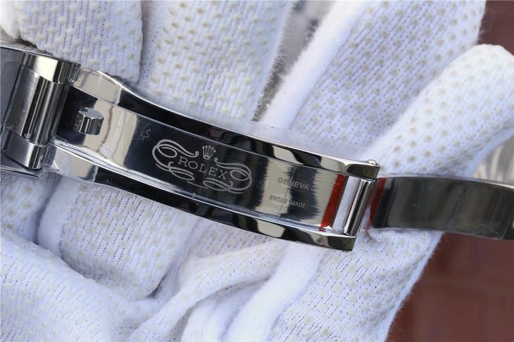 Replica Rolex Daytona 116520 904L Stainless Steel Clasp