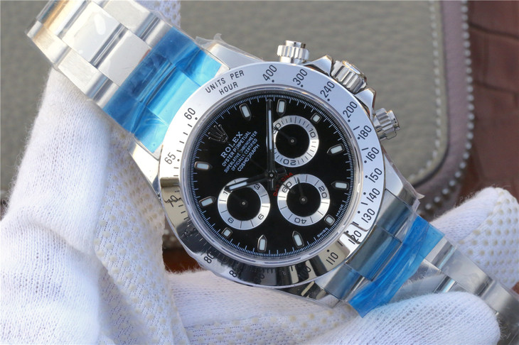 Replica Rolex Daytona 116520 Black