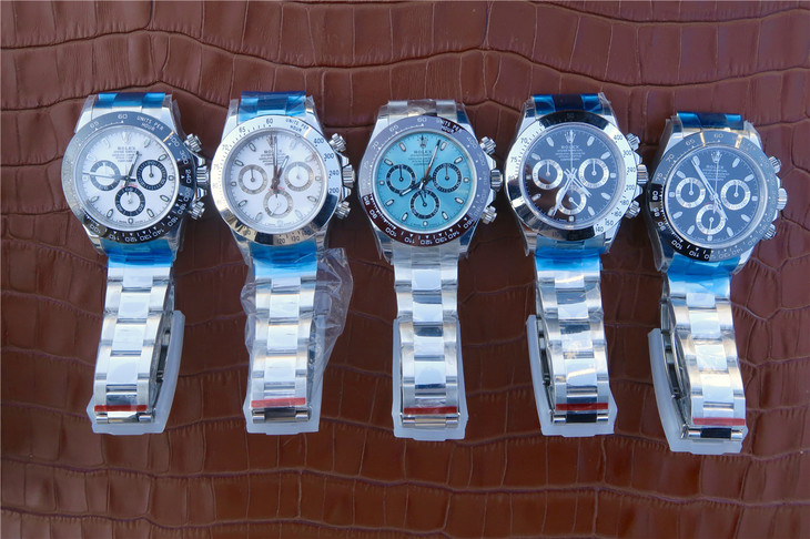 Replica Rolex Daytona Watches with Super Clone 4130