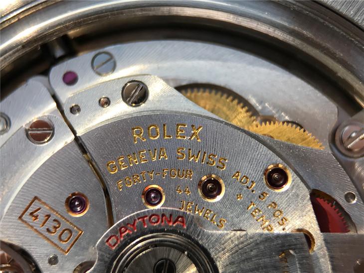 Rolex Super Clone 4130 Engravings