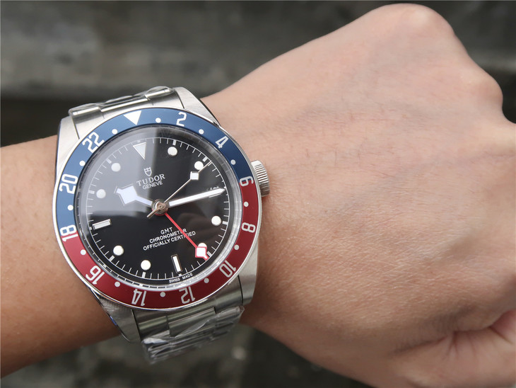 Tudor Black Bay GMT Wrist Shot
