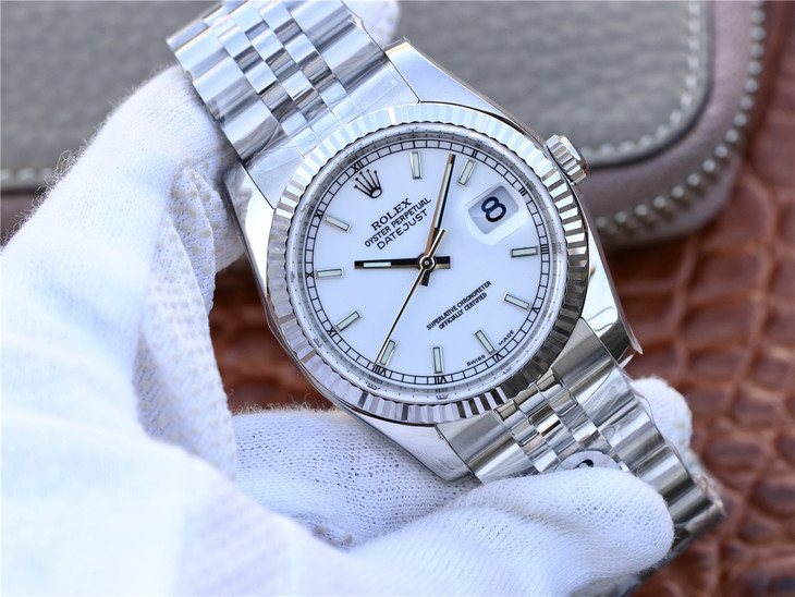 ARF Replica Rolex Datejust Stainless Steel