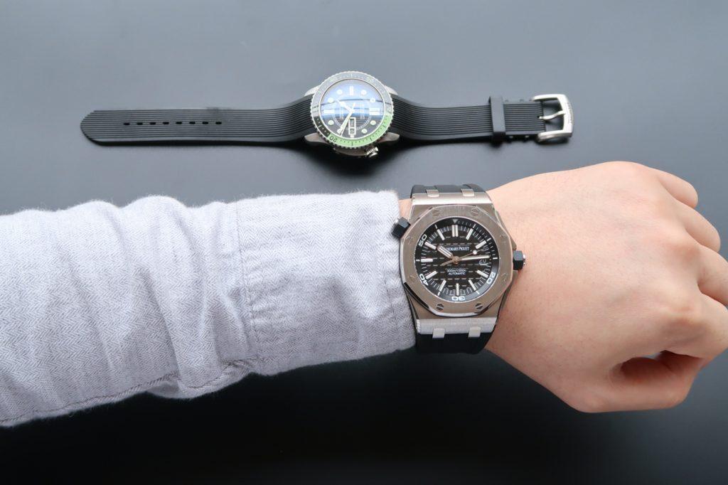 Audemars Piguet Diver 15703 Wrist Shot