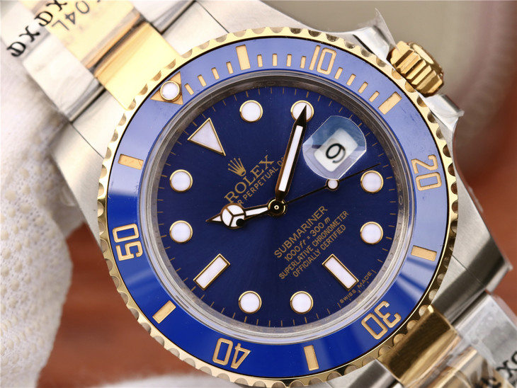 GM Replica Rolex Submariner Blue Dial
