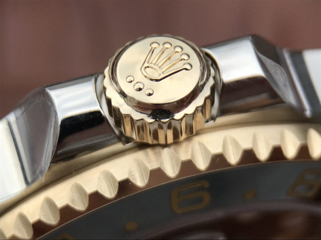 GMT-Master II Golden Rolex Crown