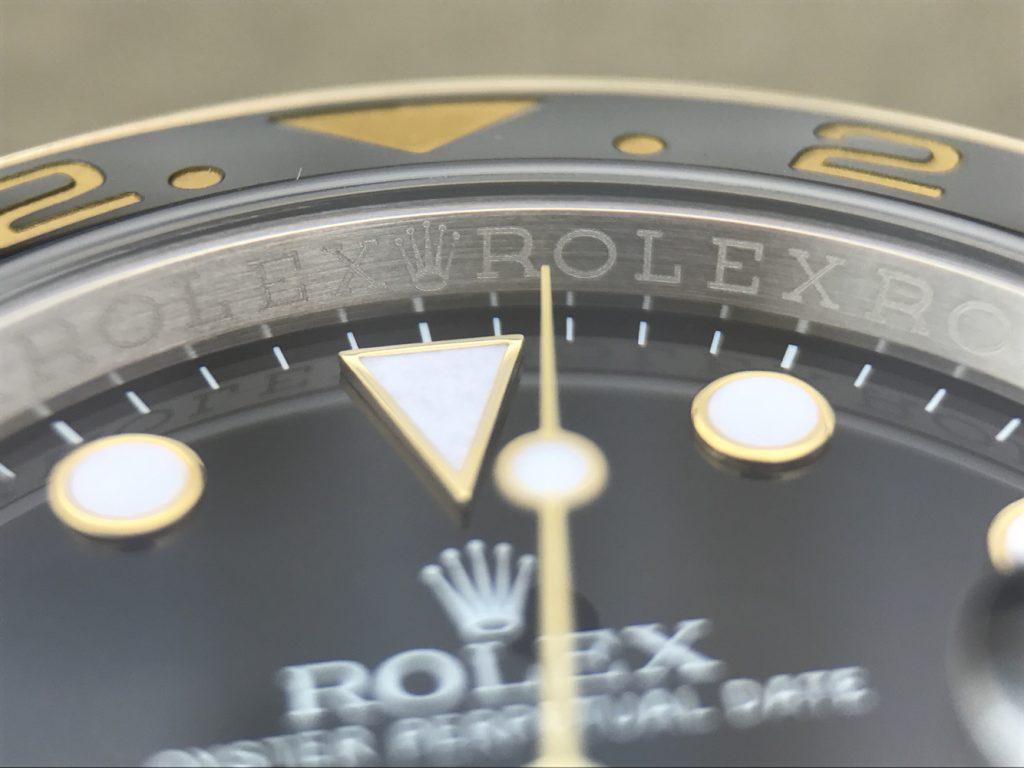 GMT-Master II ROLEX Rehaut