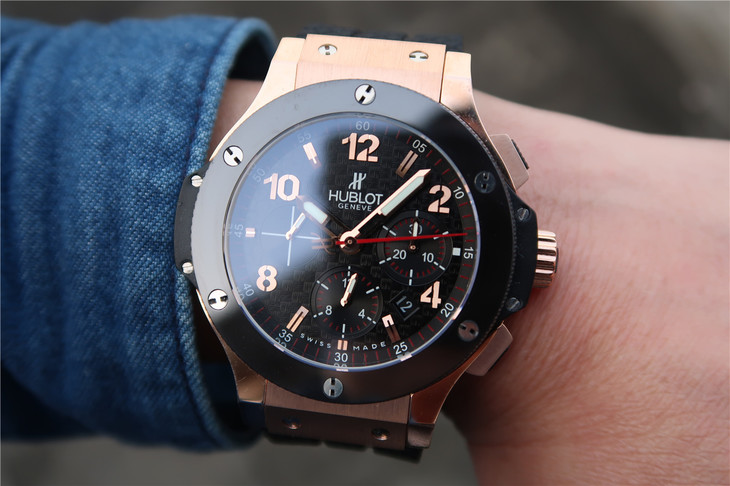 Hublot Rose Gold Watch Wrist Shot 2