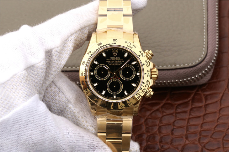 JH Replica Rolex Daytona Gold