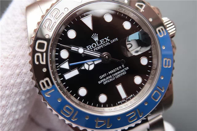 Noob V8 Rolex GMT 116710 Black Dial
