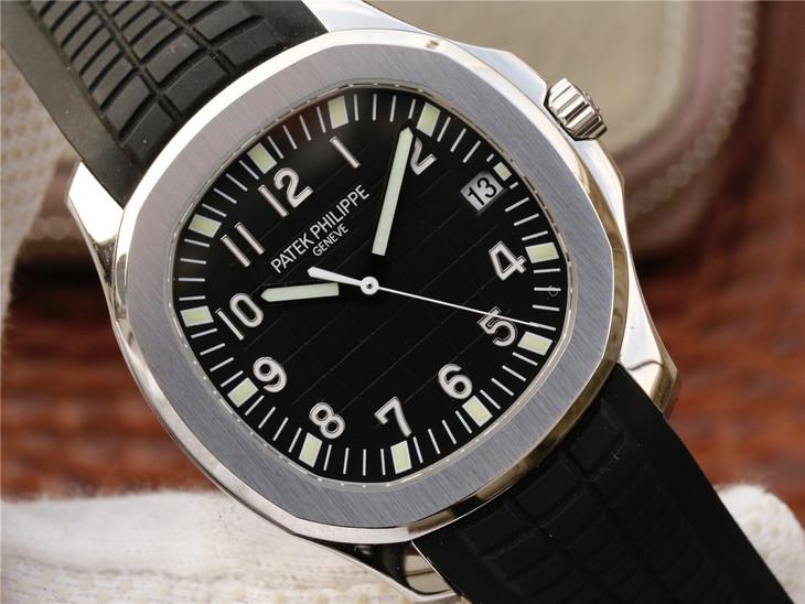 Patek Philippe Aquanaut Black Dial