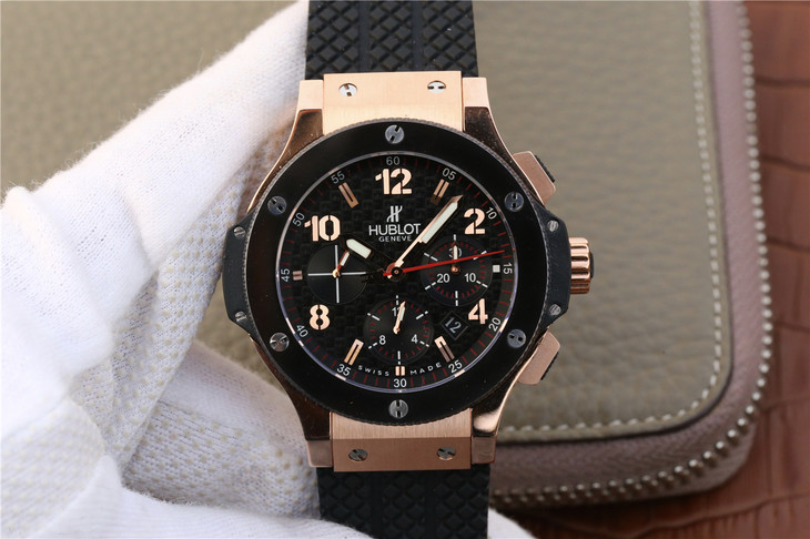 Replica Hublot Big Bang Rose Gold
