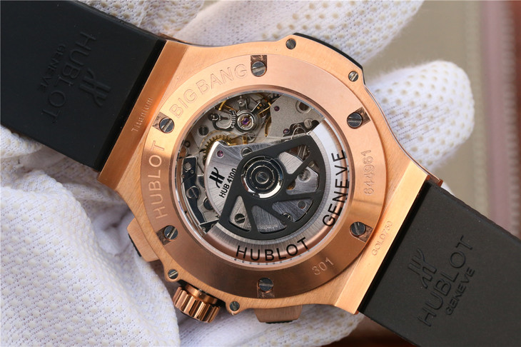 Replica Hublot Crystal Back