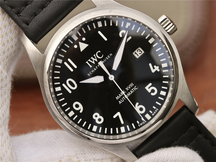 Replica IWC Mark XVIII Black Dial