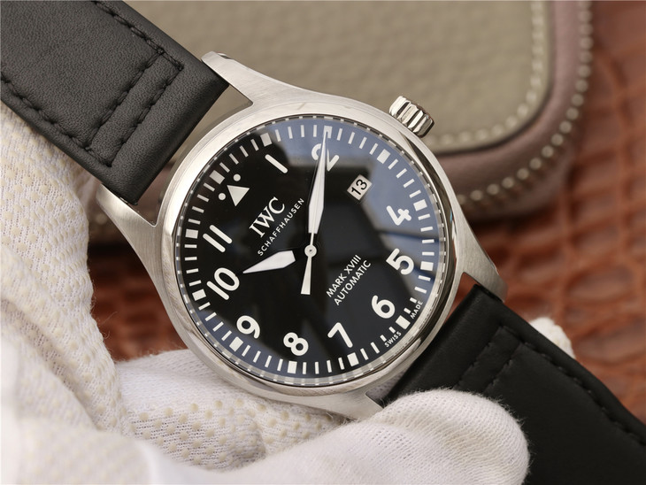 Replica IWC Mark XVIII Steel Watch