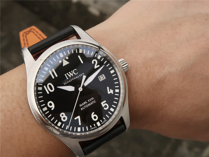 Replica IWC Mark XVIII Wrist Shot