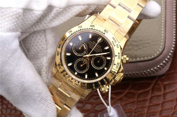 Replica Rolex Daytona 116508 Gold Case