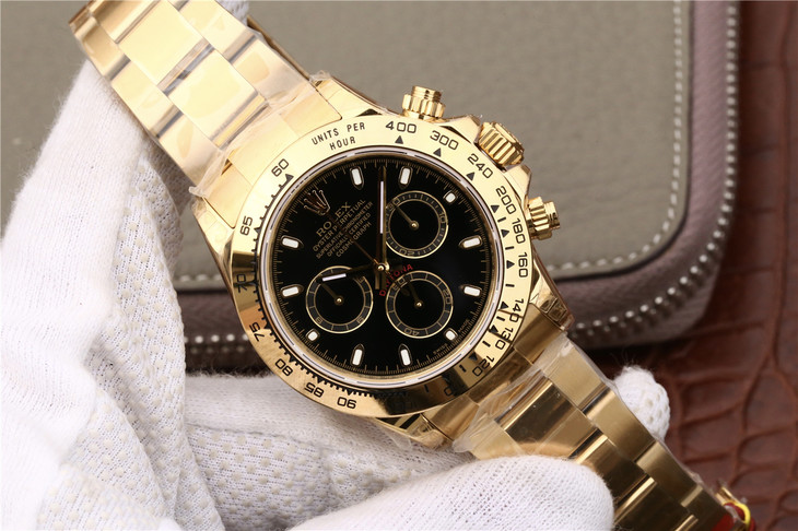 Replica Rolex Daytona 116508 Gold Watch