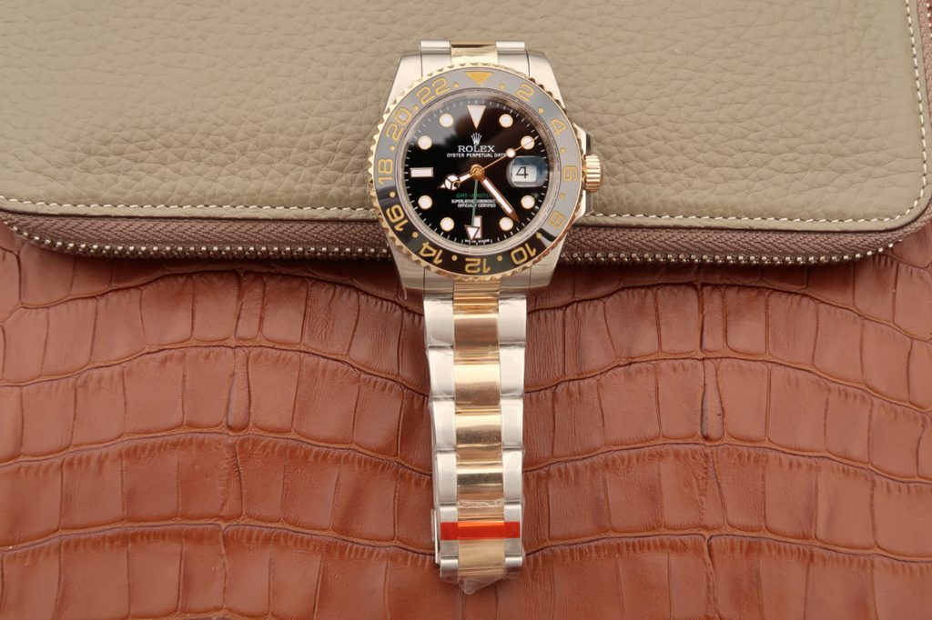 Replica Rolex GMT-Master II Two Tone Yellow Gold