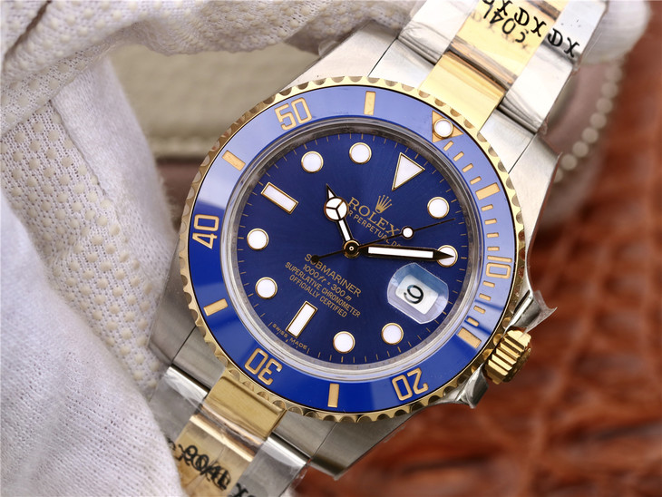 Replica Rolex Submariner Blue GMF
