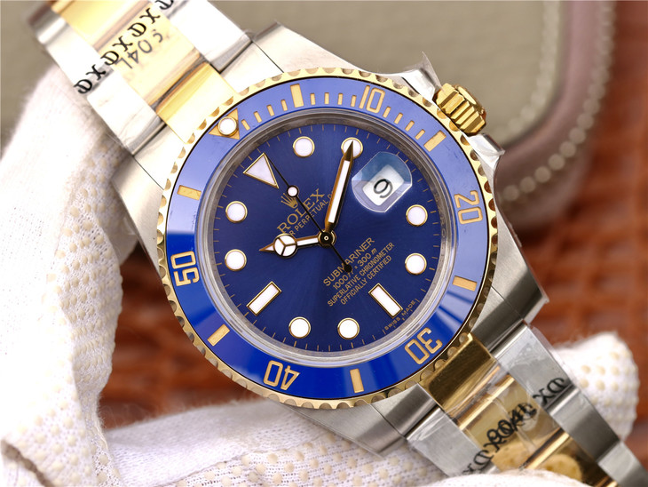 Replica Rolex Submariner Two Tone GMF