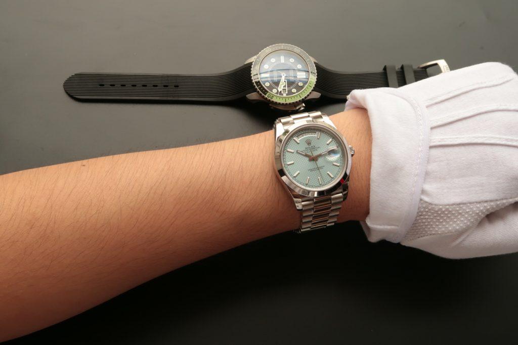 Rolex Day Date 228206 Wrist Shot