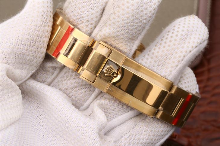 Rolex Daytona Golden Bracelet