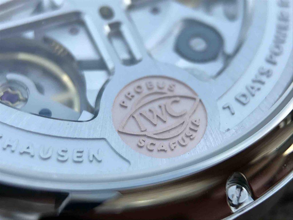 IWC Golden Logo