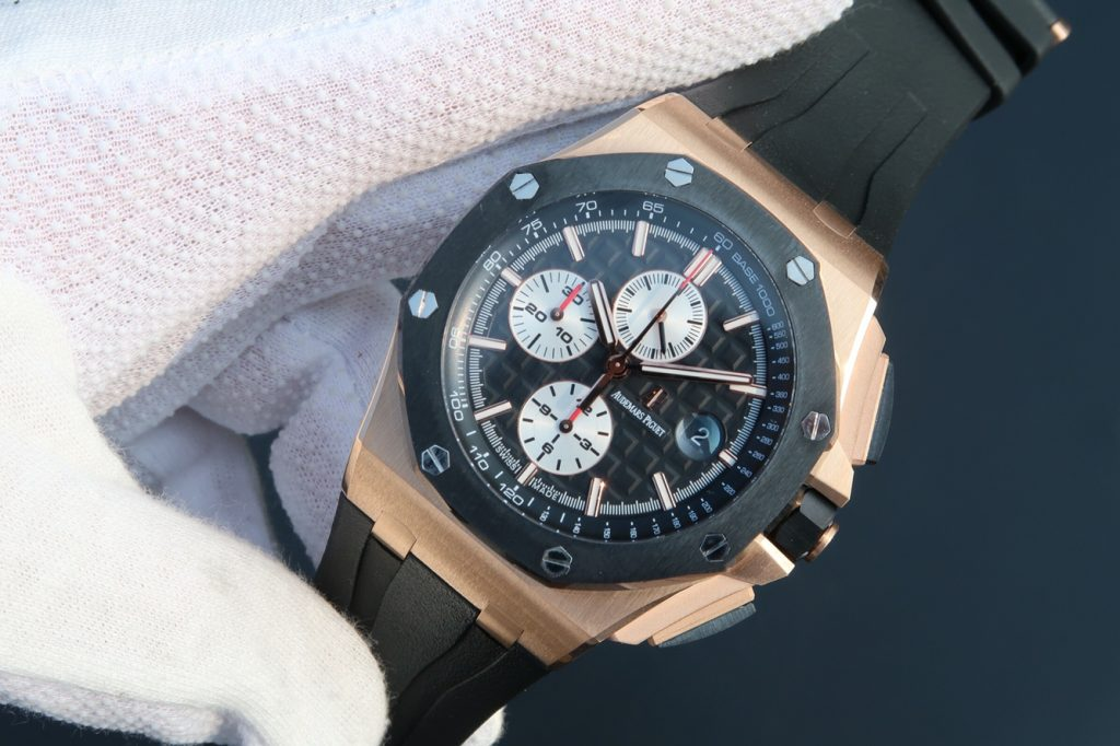 J12 Factory Replica Audemars Piguet ROO Rose Gold