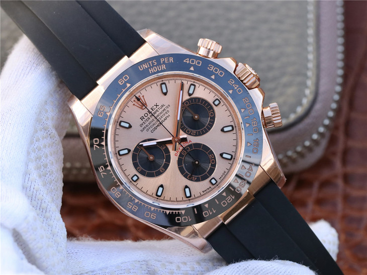 Noob Replica Rolex Daytona Rose Gold