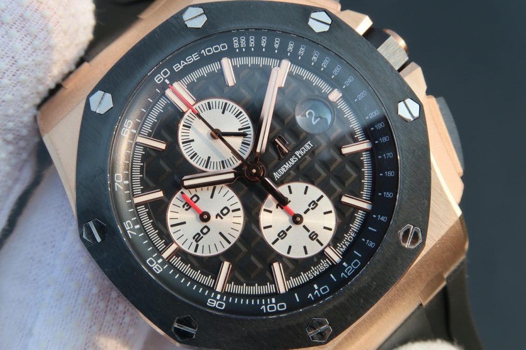 Replica Audemars Piguet Royal Oak Offshore Black Dial