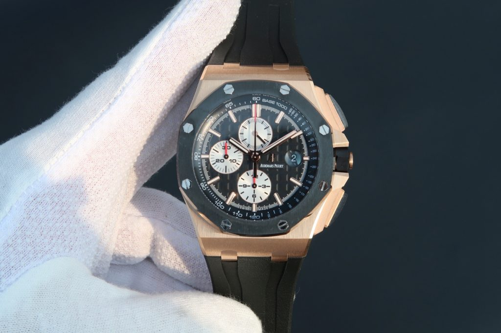 Replica Audemars Piguet Royal Oak Offshore Rose Gold Watch