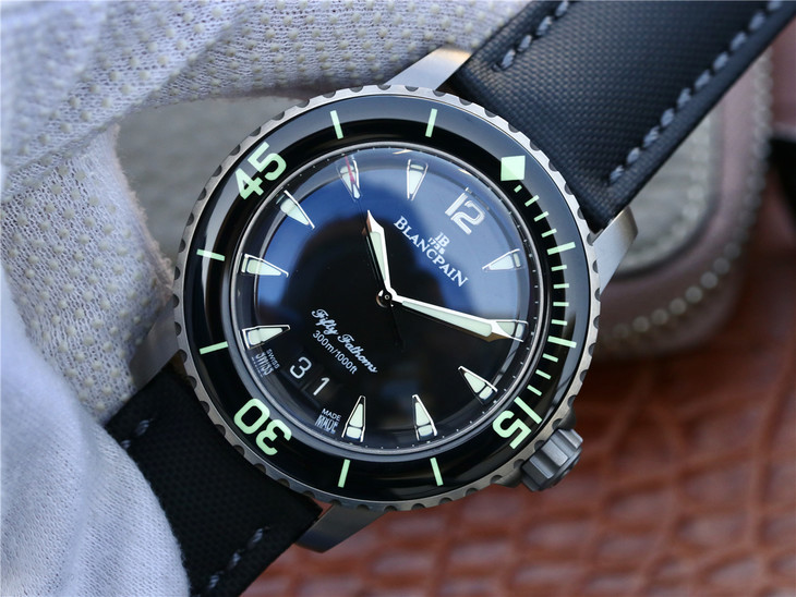 Replica Blancpain Fifty Fathoms Big Date