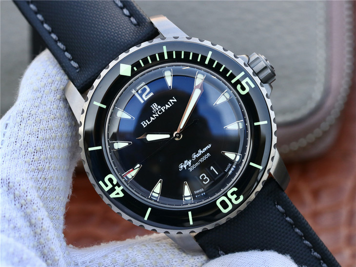 Replica Blancpain Fifty Fathoms Date