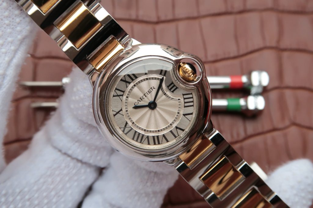 Replica Cartier Ballon Bleu 28mm