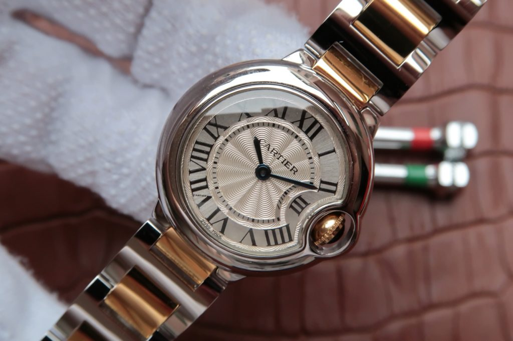 Replica Cartier Ballon Bleu Rose Gold