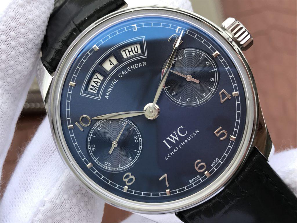 Replica IWC IW503502 Blue Dial