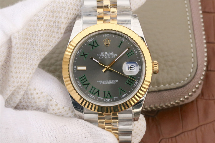 Replica Rolex Datejust II 41mm Two Tone