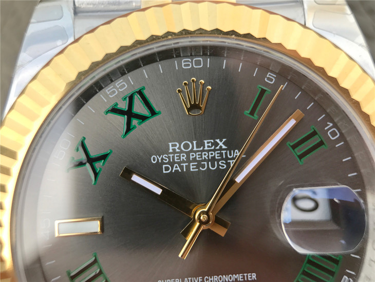 Replica Rolex Datejust II Golden Logo