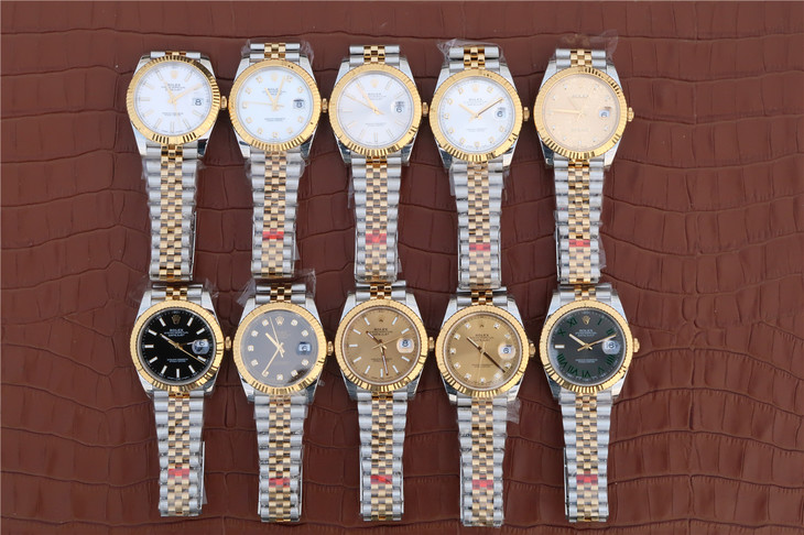 Replica Rolex Datejust II Two Tone Collection